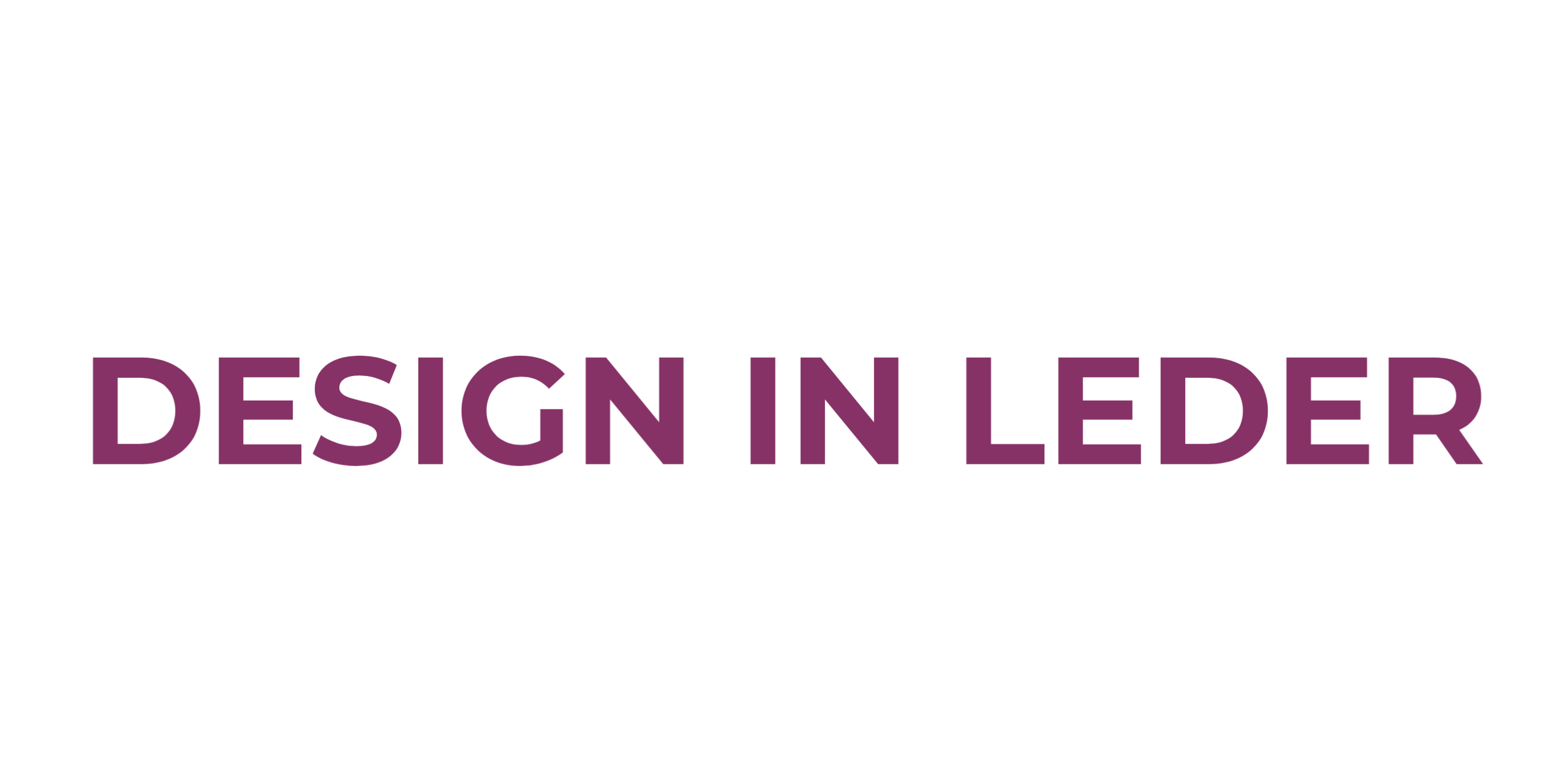 Design in Leder